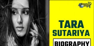 TARA SUTARIYA biography in hindi